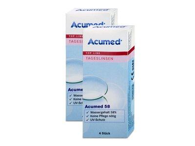 Acumed Tageslinse 58 2x4 Testlinsen, Dioptrien: +2,50