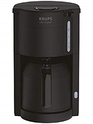 Krups KM303810 ProAroma Thermo-Filterkaffeemaschine (800 Watt, für 10-15 Tassen Kaffee) schwarz