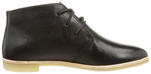 Clarks Originals Phenia Desert, Bottes Classiques Femme Noir (Black Leather)