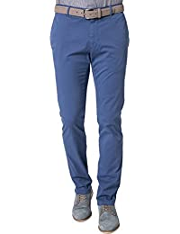 Strellson Premium Herren Hose Modisch, Größe: 35/34, Farbe: Blau