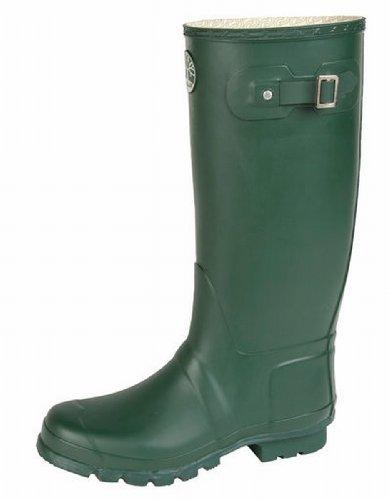 Heavy Duty Rubber Wide Fit Wellies Wellington Boots