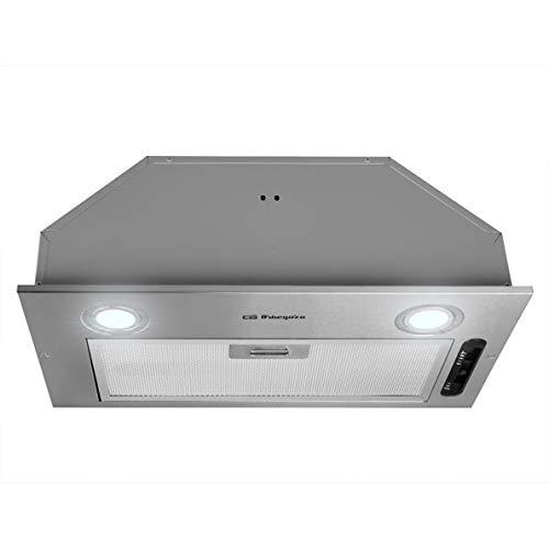 Orbegozo CA 07260 A IN - Campana extractora cassette 60cm, acero inoxidable,...