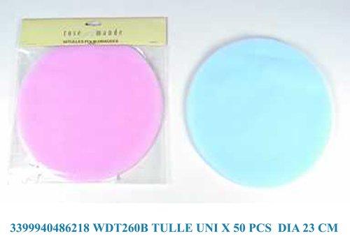 Idea bomboniere: Confezione con 50 Tulle velo rosa – Portaconfetti – velo per confetti recensioni dei consumatori