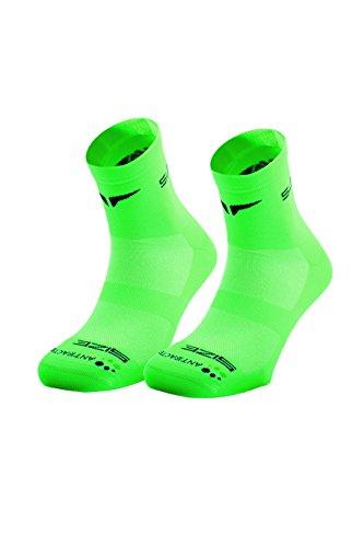 SUNKAA Herren Emana Running Socken, Grün, M/L