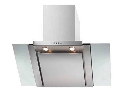 Bomann DU 667 G Wandhaube / 95 cm / 2 x 0,5 W LED, separat schaltbar / Edelstahl