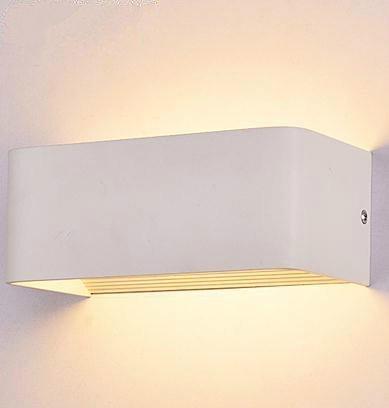 Amzdeal Lampada da Parete a LED, 6w, 3000K, 540lm, 180 gradi ...