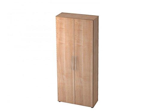 Aktenschrank DR-Büro Serie V40 - Büroschrank mit Türen - 80 x 33 x 188 cm - 5 Farben, 5 Oh,...