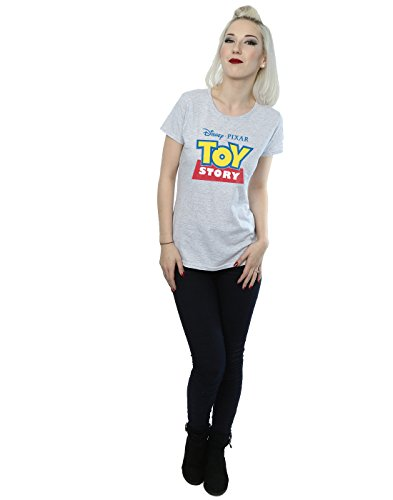 Disney Femme Toy Story Logo T-Shirt Heather Gris