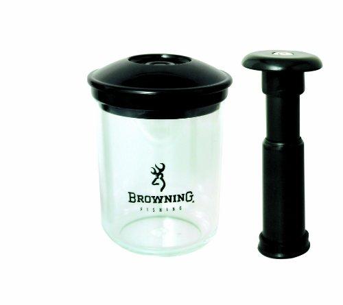 Browning, Pompa a pistone per pellet, 0,5 L, colore: Trasparente/Nero