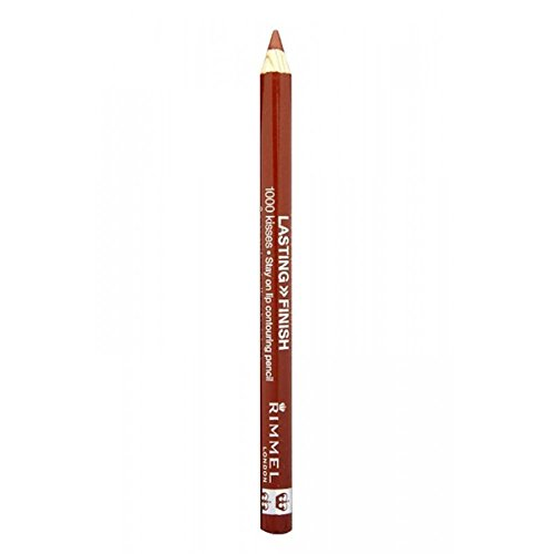 RIMMEL LONDON Lasting Finish 1000 Kisses Stay On Lip Liner Pencil - Cafe Au Lait