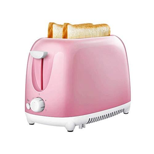 QSJNN Mini-Toaster, Edelstahl-Frühstücksmaschine