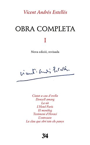 Obra completa I (Nova edició, revisada)