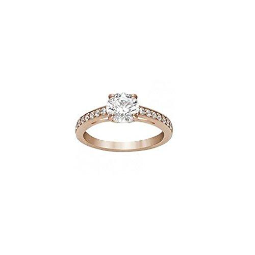 Swarovski Damen-Ringe Edelstahl Kristall \'- Ringgröße 52 5184212