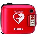 HeartStart H80003 - Caja para desfibrilador, color rojo