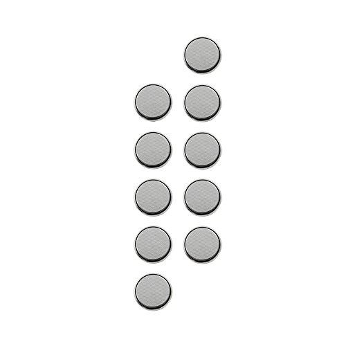 com-four® Lithium Batterie 3V Knopfzelle (CR2025-10 Stück)