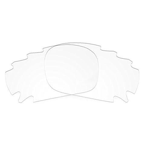 Verres de rechange Revant Transparent pour Oakley Jawbone Vented Asian Fit