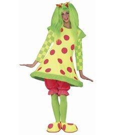 Fun World Lolli The Clown Women's Costume One - Clown Lolli Kostüm