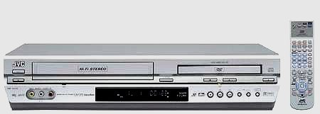 JVC HR-XV31 DVD PLAYER COMBO VCR...