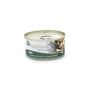 Applaws Cat Food Tin Tuna Fillet & Seaweed 24 x 156g 3744g