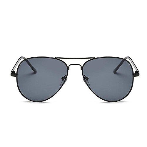 DaoRier Grau Sonnenbrille Polarisiert UV-Schutz Mode Damen Männer Rahmen Schutzbrillen Brillen Widerstehen der Sonne