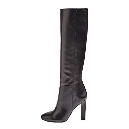 RabboStivaletto (Bootie)Leat, Bottes Classiques Femme, Black, 40 EU