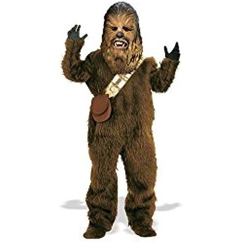 Disfraces para todas las ocasiones Ru82019Sm Chewbacca Dlx Ni-o Peque-o