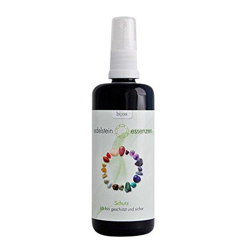 Bijos Edelstein Essenz - Schutz (100 ml) - Kräftigt und erweitert das eigene Energiefeld -