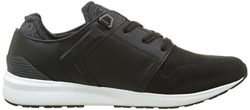 Levi's Herren Black Tab Runner Sneakers Schwarz (Noir Regular Black)
