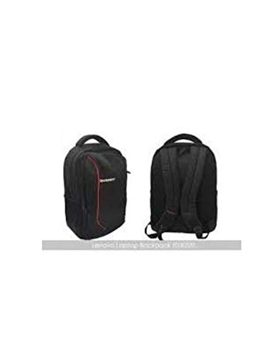 Lenovo Laptop Bag 15.6 inch Backpack Black Red for HP Dell Laptops Image 5