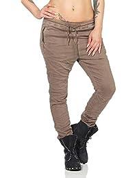 OSAB-Fashion 10668 LEXXURY Damen Jeans Hose Boyfriend Haremsjeans Gummibund  Röhrenjeans… 8432785a16