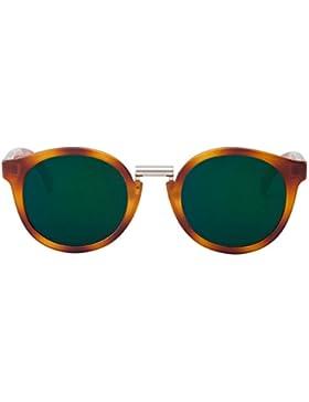 MR.BOHO, Tortoise fitzroy with dark green lenses - Gafas De Sol unisex multicolor (carey), talla única