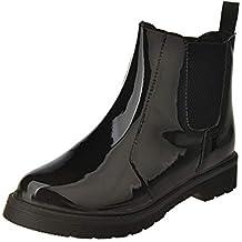 Mujeres Otoño Invierno Botines Tacón Alto Tobillo Botas Señoras Plataforma Zapatos Altos Talones Martin Botas Botas