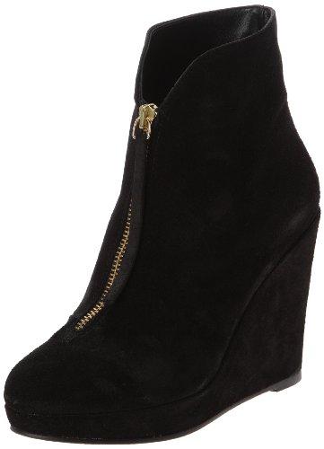 Morgan 1Zico A, Boots compensées femme Noir
