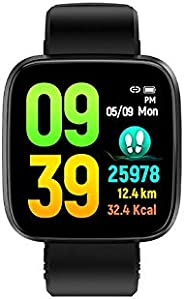 OPTA SB-162 Aglaja Bluetooth Heart Rate + Sleep Monitor Fitness Watch Compatible with Android/iOS Smart Phones
