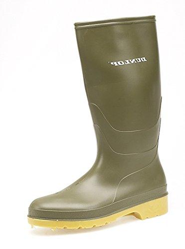 Dunlop - Stivali Unisex per bambini Verde (verde)