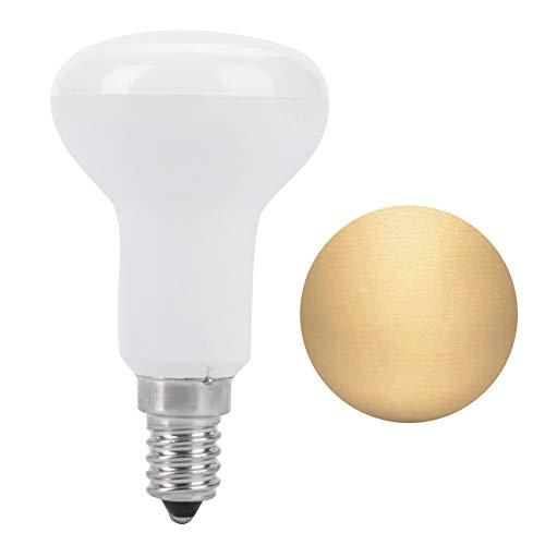 Riuty E14 LED-Birnenlampe, 4 Satz 7PCS SMD3030 LED Flut-Glühlampe-energiesparende Glühlampe für Innenanzeigenzähler, der 5W 86-265V beleuchtet(warm White) - Glühlampen Der Flut