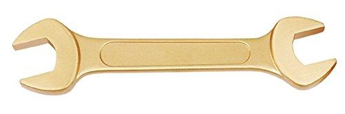 Endres 0011213S-QP Funkenfreier Doppelmaulschlüssel, Sonderbronze Din 3110: 12 x 13 mm Explosionsschutz nach ATEX, Qualität: Prämium