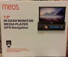 MEOS 17,78 cm In-Armaturenbrett Monitor Media Player GPS Navigation