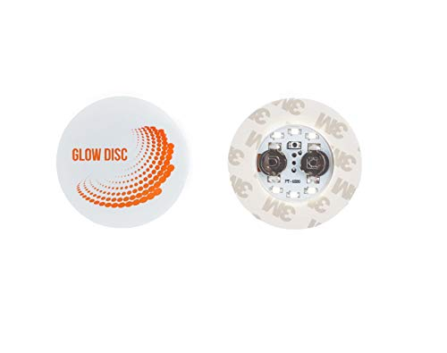 Glow Disc White 10er Pack weiße wasserfeste LED Flaschen-Beleuchtung mit 6 weißen LEDs zur Beleuchtung von Flaschen und Gläsern, Hochzeit Party romantische Deko, Flaschen-Licht -