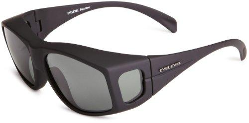 Eyelevel Herren Sonnenbrille , Overglass Med, GR. One size (Herstellergröße: One Size), Schwarz