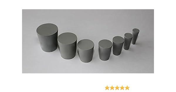 Gummistopfen ø15mm x ø11mm x länge 20mm : amazon.de: küche & haushalt