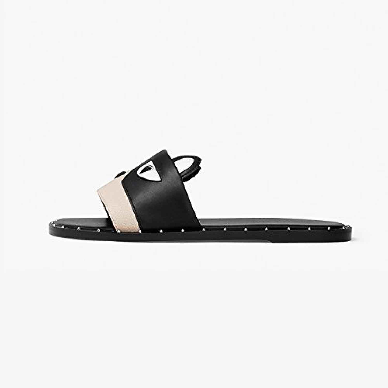 YQQ Chaussures Décontractées Pantoufles Plates Dame Chaussures Simples  De s D'été Chaussures De  Femme Confortable...B07D92CL92Parent e8ade0