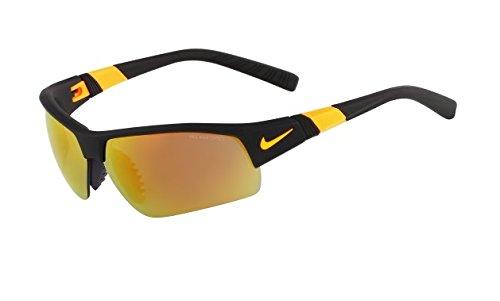 a864fabe78 Nike Grey With Mild Orange Flash Grey Lens Show X2 Pro R Sunglasses Matte  Black