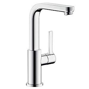 Hansgrohe 31161000 Metris S grifo de lavabo, con vaciador Push-Open, cromo
