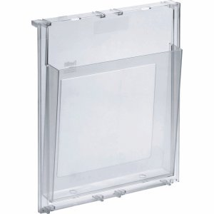 Helit 4 x Prospekthalter A4 glasklar