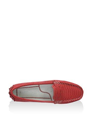 CafèNoir - Ef801, Mocassini Donna Rosso (rosso)
