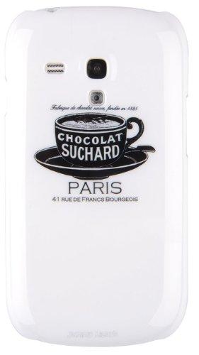 JAMMYLIZARD | Custodia Floreale per iPhone 5 e 5s e iPhone SE Shabby Chic - CAFFE A PARIGI