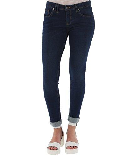 Bench, Jeans Donna Fasterestv1, Azul (Darkworn), W26/34 (Tallia Produttore: 26/34)