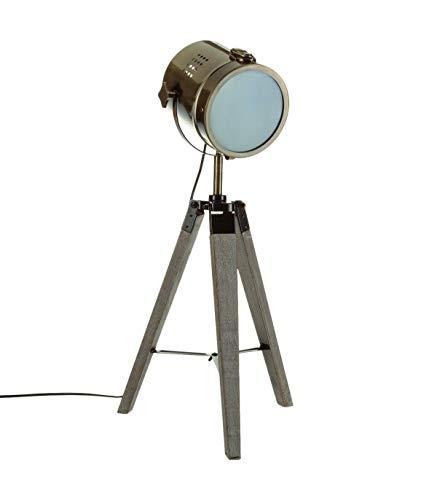 Lámpara proyector, diseño vintage retro metal tipo