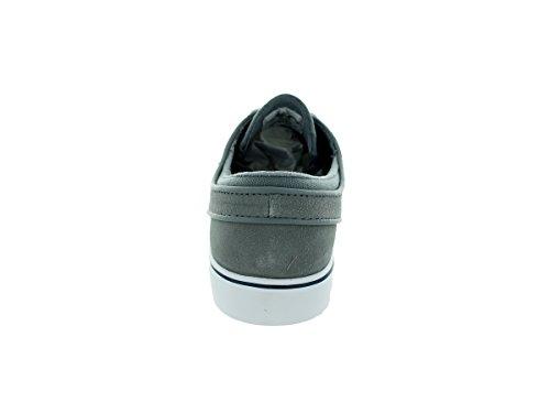 Nike Zoom Stefan Janoski Herren Skateboardschuhe Grau / Blau / Weiß (Cl Grey / Gm Ryl-Sqdrn Bl-White)